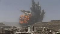 Suud Rejiminin Yemen Halkına Yönelik Saldırısı Sürüyor