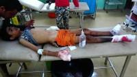 Suud Rejimine Bağlı Uçaklar Taiz Şehri Kırsalındaki Sivilleri Bombaladı: 10 Ölü