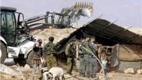 Siyonist Rejim, El-Halil'de Ona Yakın Tesisi Yıktı
