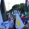 Yunanistan'da Filistin'e destek vermek amacıyla gösteri düzenledi