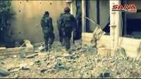 Zabadani'nin Sahl bölgesi teröristlerden temizlendi