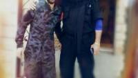Foto: Suriye'nin Aslanlarından General İsam Zahreddin ve kendi gibi asker olan oğlu, Yabroud Zahreddin