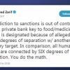 Cevad Zarif: ABD'nin yaptırım bağımlılığı, kontrolden çıkmıştır