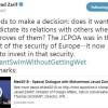 Cevad Zarif: Avrupa güvenliğinin temini için bedel ödemelidir
