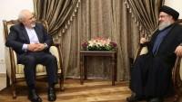 İran Dışişleri Bakanı Zarif, Seyyid Hasan Nasrullah'la görüştü