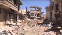 Video: Suriye ordusu ve Hizbullah'ın Zebadani operasyonundan kareler