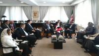 Suriye Enformasyon Bakanı ile İran Kültür Bakanı bir araya geldi