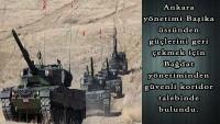 Türkiye güçlerini geri çekmek için güvenli koridor istedi