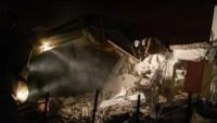 İşgal Güçleri Şehit Salih El-Bergusi'nin Evini Yıktı