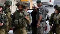 Siyonist İsrail Askerleri 25 Filistinliyi Gözaltına Aldı