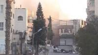 Siyonist İşgal Güçleri 1 oğlunu şehit ettiği 5 oğlunu da tutukladığı kadının evini yıktı