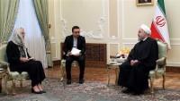 Hasan Ruhani: İran'ın savunma gücü müzakere edilemez
