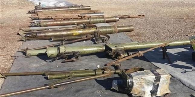 Kuneytere'de İsrail ve Amerikan yapımı silahlar ele geçirildi