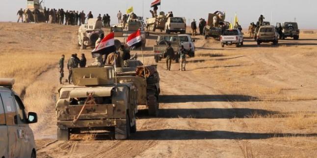 Irak'ın Batısında terör hedefleri imha edildi