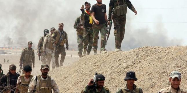 Irak'ta DEAŞ'lı teröristlerin saldırısı püskürtüldü