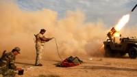 Iraklı Direniş Grupları, ABD'nin Bağdattaki Büyükelçilik Binası İle Al Anbardaki Askeri Üssünü 2 Adet Grad Füzesiyle Vurdu