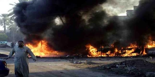 Irak'ta 3 DEAŞ'lı terörist üzerilerindeki bombaları patlattı
