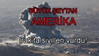 Büyük Şeytan Amerika Ordusuna Bağlı Uçaklar Musul Halkını Bombaladı ! 81 Ölü