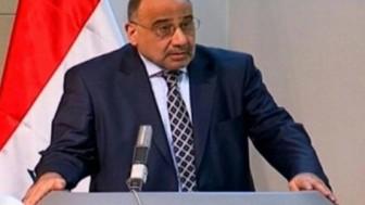 Adil Abdulmehdi: Irak, İran'ın yardımları ile bu noktaya gelmiştir