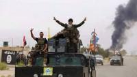 Musul'un kuzeyinde yer alan El-Melayin mahallesi DEAŞ'tan geri alındı