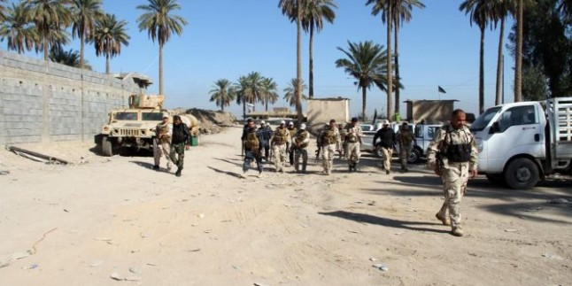 Samarra Şehrine Sızmaya Çalışan IŞİD Kalıntılarına Darbe İndirildi