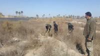 Irak Ordusu Ve Haşdi Şabi Mücahidleri IŞİD Teröristlerinden Temizlenen Bölgelerde Çok Sayıda Tünel Buldu