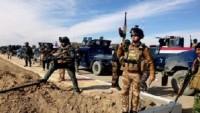 Irak Ordusu Kerkük Şehrinin Güneyinde Gizlenen IŞİD Teröristlerine Operasyon Başlattı