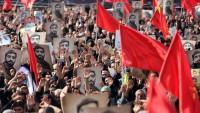 Şehit Mohsen Hoceci'nin cenaze töreni Tahran'da başladı