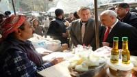 Haseke Valisi Çarşı Pazarları Denetledi