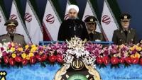 Ruhani silahlı kuvvetlerin geçiş törenine katıldı