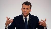 Macron: Suriye'nin kimyasal silah kullandığına dair kanıt olursa vururuz