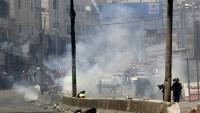 Siyonist İsrail Güçleri Barışçıl Gösterilere Sert Müdahale Ederek 17 Kişiyi Yaraladı