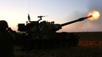 Siyonist İşgal Ordusu Topçusu Deir Belah'ın Doğusuna Ateş Açtı