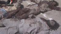 Foto: Haseke Kentinin Gvayran Semtinde Öldürülen IŞİD Teröristlerinden Birkaçı…