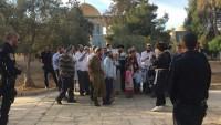 Yahudi Yerleşimcilerden 38 Kişi Bugün Sabah Mescidi Aksa'ya Baskın Düzenledi