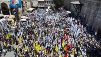 Foto: Suriye'de Kudüs Günü…