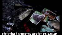 TASARIM: FİLİSTİNLİ BEBEKTEN GERİYE KALANLAR…