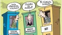 """Karikatür: Suriye'ye 4 """"adam"""" gönderip Türkiye'ye 8 """"füze"""" attırmayı planlayanlar…"""