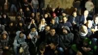 Siyonist İşgal Güçlerinin Babu'l-Amud'daki Gösteriye Müdahalesinde 4 Filistinli Yaralandı