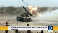 Yemenli birlikler, Suudi kiralık askerlerini füzeyle vurdu
