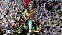 Foto: İmam Sadık (a.s) camisi şehitlerine veda merasimi