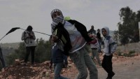 Siyonist İşgal Güçleri Batı Yaka'da Yapılan Barışçıl Gösterilerde Güç Kullandı