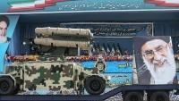 İran'ın yerli füze savunma sistemi görücüye çıktı