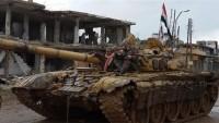 Suriye ordusu Türkiye sınırının bir kaç yüz metre yakınına yaklaştı