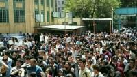 Tahran'da BM Genel Sekreteri Danışmanı Protesto Edildi