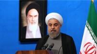 Ruhani: İran'ın ağır suyu olmasın diyenler, şimdi ağır su ısmarlıyor