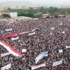 Suudi Bombardımanı Altında Filistinlilere Destek