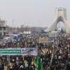AP: İran milleti ABD ve İsrail karşıtı sloganlarla yürüyüşe başladı