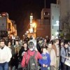 Filistin Halkı Siyonist İsrail'i Protesto Etti