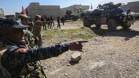 Musul'un batısında şiddetli çatışmalar sürüyor